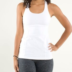 lululemon athletica Tops - Lululemon Energy Tank Top In White